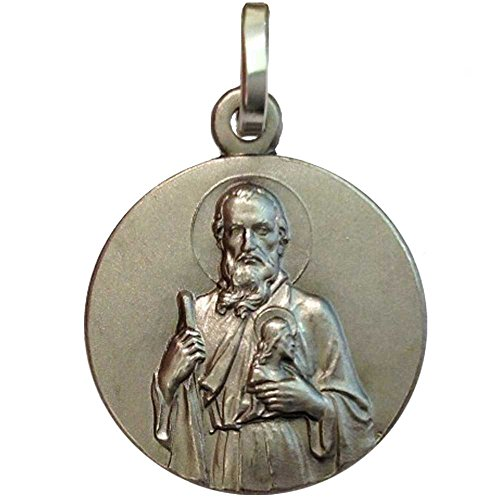 Medaglietta' San Giuda Taddeo' in argento 925 millesimi - 925 Sterling Silver' Saint Jude Thaddeus'