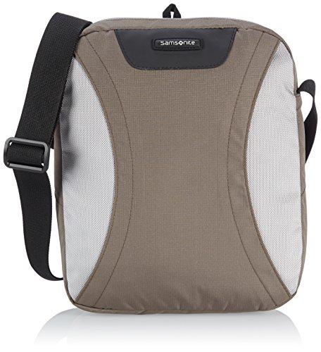 Samsonite Wanderpacks Tablet Cross-Over Umhängetasche, Coffee Milk/Grey