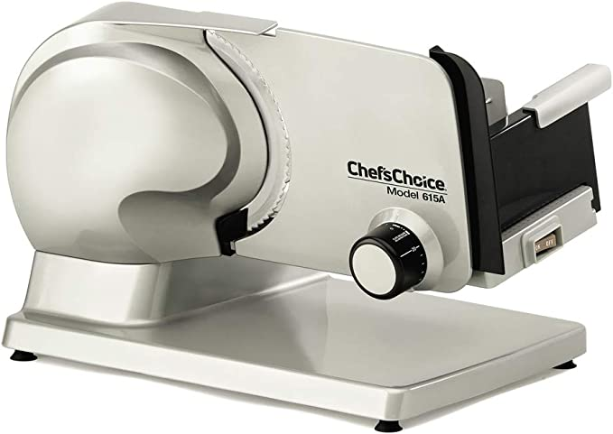 Chef'sChoice 615A Electric Meat Slicer – Best Meat Slicer
