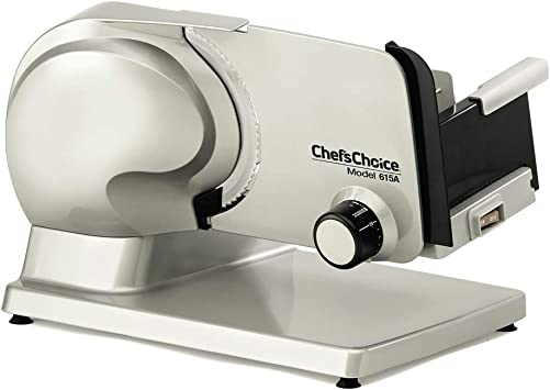 Chef'sChoice Electric Meat Slicer with Removable Blade
