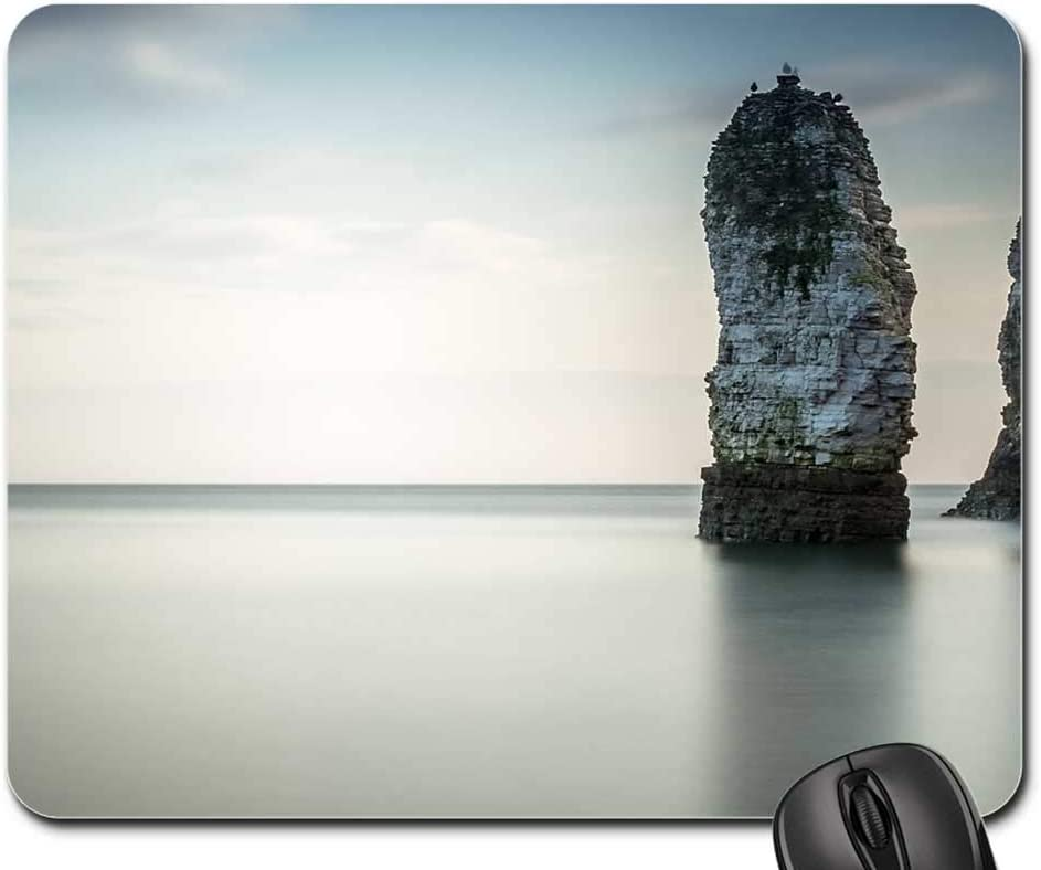 Mouse Pad - Max 47% OFF Chalk Stack Fashion Seascape Long Cliffs Exposure