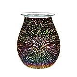 WYBFZTT-188. Electric Aroma Air Diffuser Desire Desire Cera Melt Bruciatore 3D Tocco Lampada da Toccare Luce Notturna Tart Wax Wax Wax Swerer Essential Oil Aroma