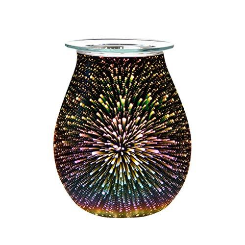 WYBFZTT-188. ELEKTRISCHER Aroma AIR Diffuser WÜRGER Wax MELMEN Burner 3D Touch Lampe Nachtlicht Tart Wachswärmer Ätherisches Ölaroma