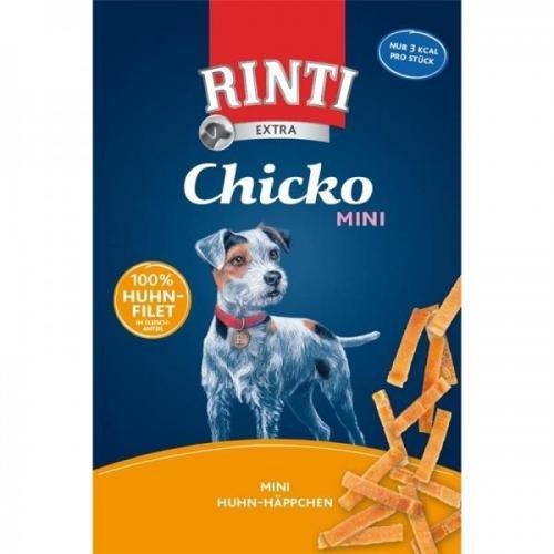 9 x Rinti Extra Chicko Mini Huhn 225g, Hundesnack, Kauknochen