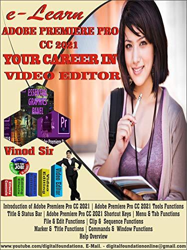 Adobe Premier Pro CC 2021: Latest Book Update (English Edition)