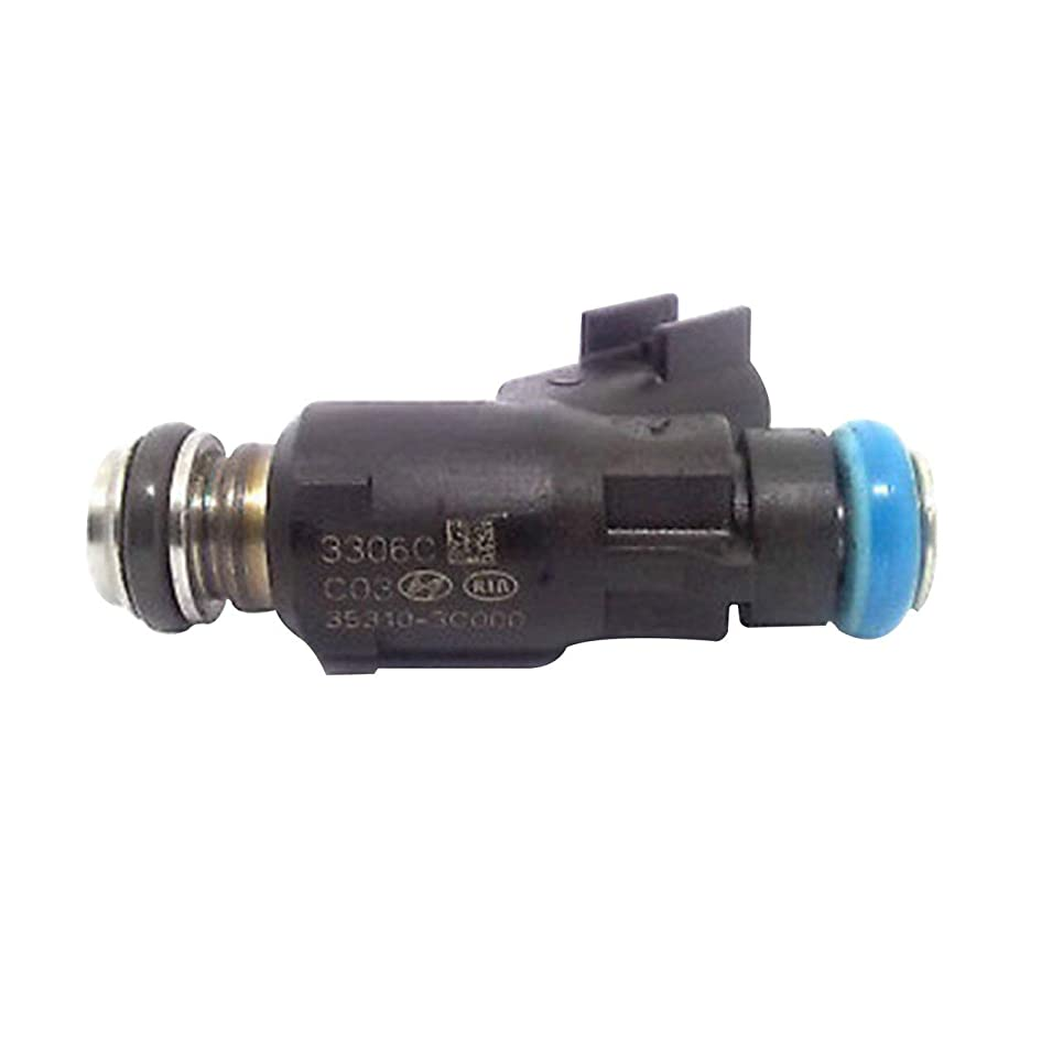 科学者援助する性別燃料噴射装置35310-3C000はヒュンダイソナタEntourage Kia 06-12セドナに適合高品質耐久性高信頼性(色:黒)