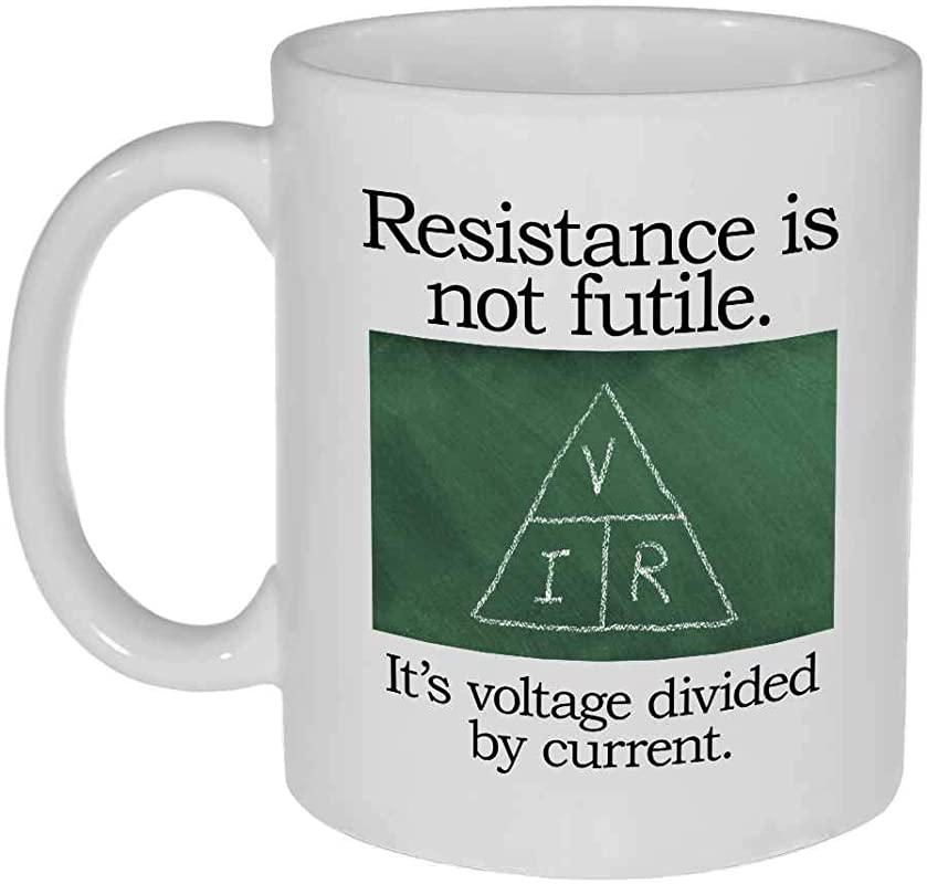 Resistance Is Not Futile Coffee Or Tea Mug