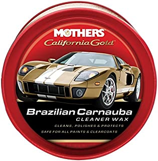 Mothers Las madres California Oro Brazilian Cleaner Cera de carnaúba-12onzas