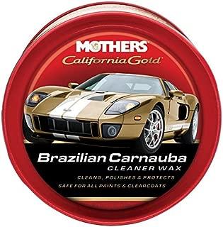 Mothers 05500 California Gold Brazilian Carnauba Cleaner Wax Paste - 12 oz.