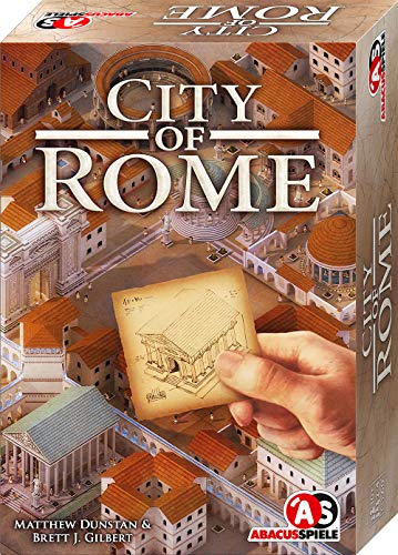 ABACUSSPIELE 04183 - City of ROME, Strategiespiel, Familienspiel