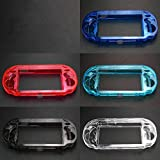 Replacement Clear Protective Hard Case Transparent Housing Shell Cover Case for for Sony psv1000 Psvita PS Vita PSV 1000 (Clear)