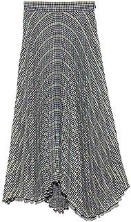 [ミラ オーウェン] スカート スーツセットランダムヘムプリーツスカート 09WFS191069