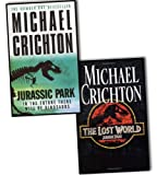 Michael Crichton Jurassic Park 2 Books Collection Pack Set (Jurassic Park, The Lost World)