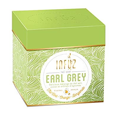 Infuz - Thé vert en vrac tonifiant pour commencer la journée