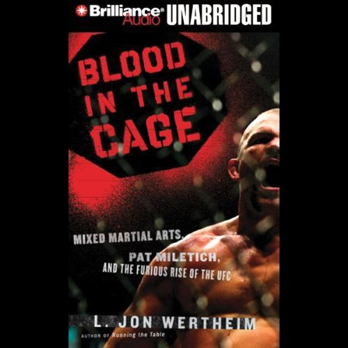 Blood in the Cage audiobook cover art