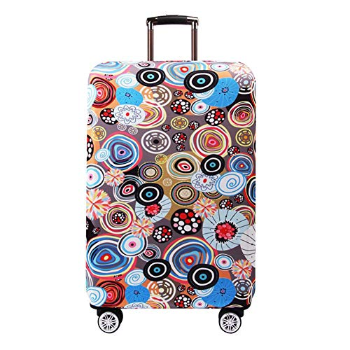 Buy Vaskey Lollipop Printed Elastic Washable Luggage Protector Case Suitcase Protective Cover with Z...