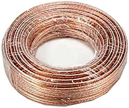 SF Cable, 50ft 14AWG Bulk Polarized Speaker Wire Spool