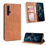 Litao-Case HD Funda para Huawei Honor 20 YAL-L21 Funda Flip Cuero de la PU+ Cover Case de Silicona Protección Fija 1