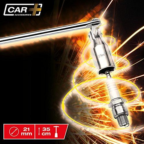 SUMEX 2707084 Carplus - Chiave per Candele Snodata, Diam 21 mm