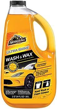 Armor All 10346 Ultra Shine Wash & Wax 64 Fl Oz