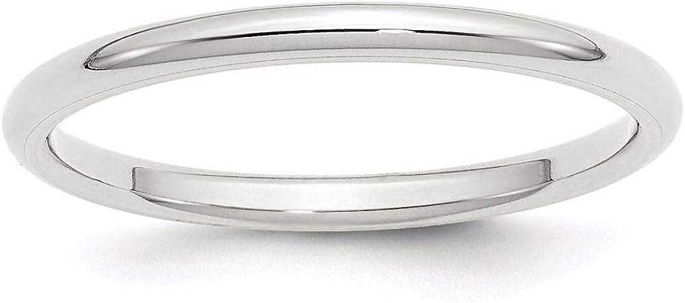 10K White Sales Gold 2mm Standard Comfort Ban Wedding Ladies Fit Men's Outlet sale feature