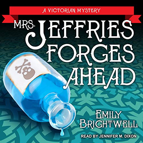 Mrs. Jeffries Forges Ahead Audiobook By Emily Brightwell cover art