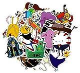 SetProducts  Top Pegatinas! Juego de 29 Pegatinas de Adventure Time Vinilos - No Vulgares - Fashion, Estilo, Bomba - Personalización Portátil, Equipaje, Motocicleta, Bicicleta, Monopatín