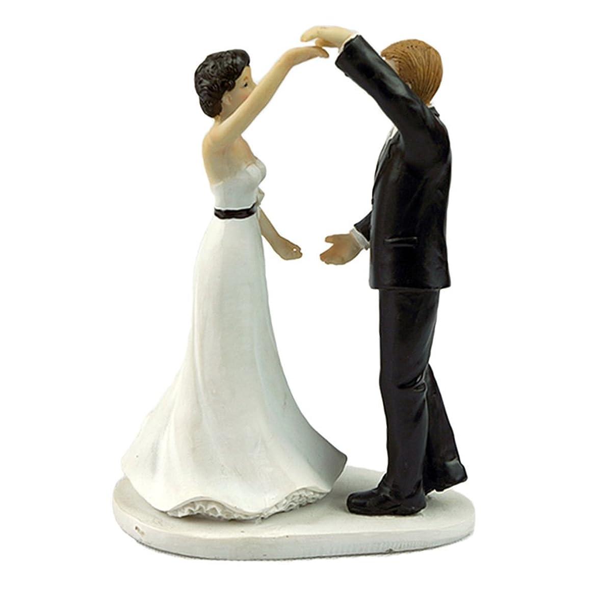 愚かなご予約ベッドPoprain ケーキトッパー ウエディング ロマンチック ケーキ飾る用品 超おもしろい ウェディング フィギュア 結婚式 周年記念 装飾 花嫁花婿 プロポーズ 誕生日パーティー ウェディングケーキ 20個デザイン 16 家庭用品