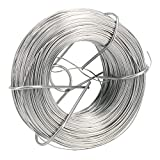 AB Tools-<span class='highlight'><span class='highlight'>Toolzone</span></span> Zinc Plated Wire Roll Hanging Pictures Garden Wire 125 metres x 0.7mm Thick