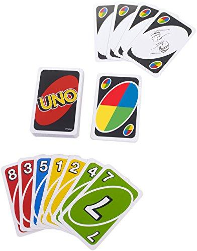 Mattel W2087 – Uno, Kartenspiel - 3
