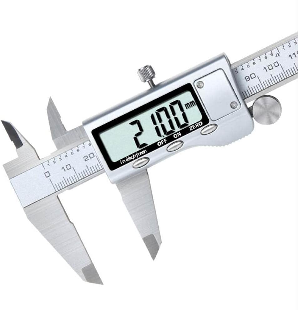 LOPIXUO 1 year Manufacturer OFFicial shop warranty Vernier caliper Metal 150mm Stainless D Electronic Steel