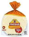 Mission White Corn Tortillas, Gluten Free, Trans Fat Free, Small Soft Taco Size, 30 Count