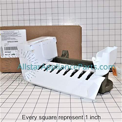 W10272869 FSP OEM Genuine Freezer, Refrigerator Ice Maker Assembly