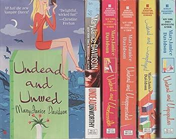 MARY JANICE DAVIDSON - SET OF 6 BOOKS - UNDEAD SERIES.