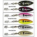 gunki blades for soft plastic lures
