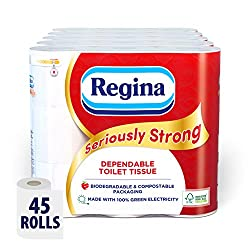 Regina Seriously Strong Toilet Paper