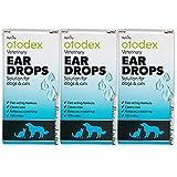 Petlife Otodex Veterinary Eardrops for Pet, 14 ml (14ml x 3)