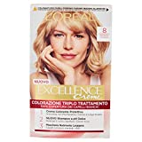 L'OREAL Excellence No.8 Hellblondes Haar - Haarfärbemitteln