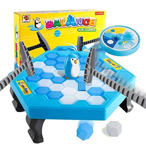 Partido del Juego del Juguete 1 Set Small Save Penguin Trap Ice Breaker Juego Block Toy Funny Children Kids Gift