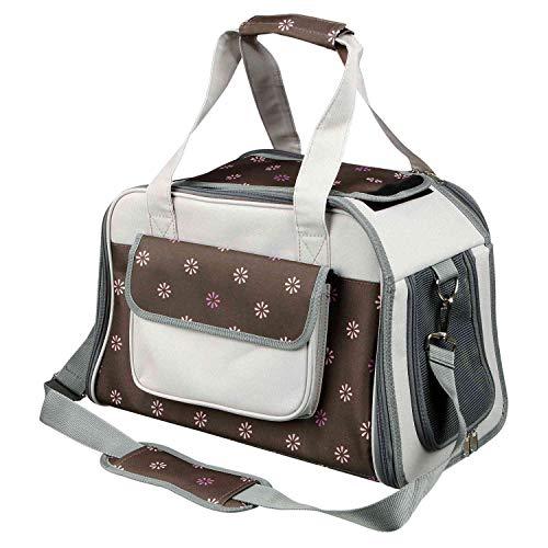 Trixie 28954 Tasche Libby, 25 × 27 × 42 cm, braun/grau