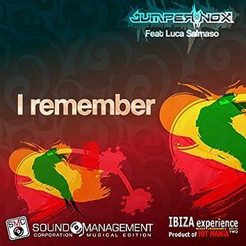 I Remember (feat. Luca Salmaso) [Ibiza Experience Mixed Crossdance Beats Two, Product of Hit Mania]