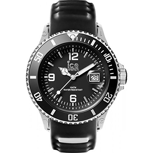 Ice-Watch - ICE sporty Black White - Men's wristwatch with silicon strap - 001451 (Medium)