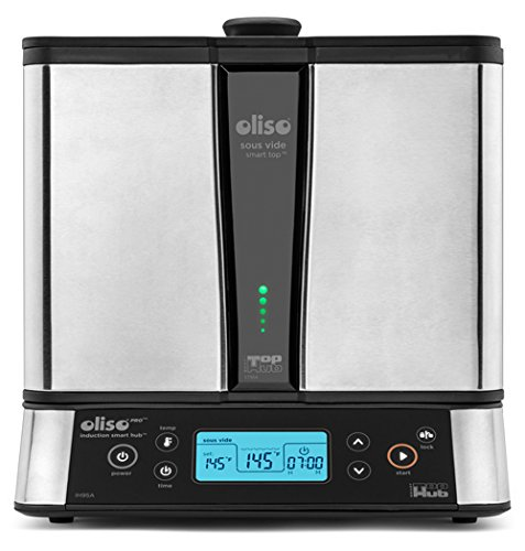 Oliso SmartTop and SmartHub Induction Cooktop Sous Vide Cooking System, 11 Quart Capacity