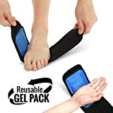 Cold & Hot Therapy Wrap, Reusable Gel Pack for Pain Relief. Great for Sprains, Muscle Pain, Bruises,...