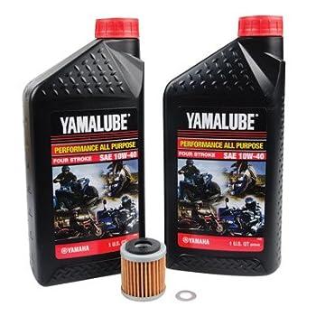Oil Change Kit With Yamalube All Purpose 10W-40 for Yamaha YFZ 450 2006-2009
