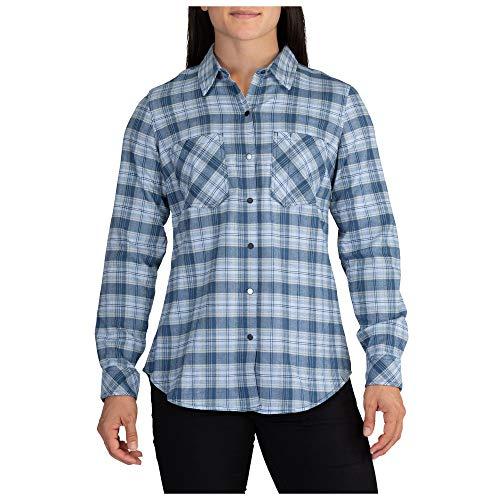 5.11 Tactical Women's Hanna Flannel Long Sleeves Shirt,...