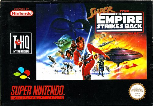 Super Star Wars : The Empire Strikes Back - Super Nintendo SNES