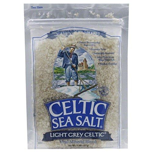 Celtic Sea Salt Light Grey Sea Salt Coarse, Pack of 18