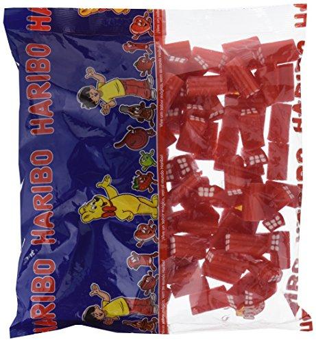 Geles dulces Deliciosas piezas en forma de ladrillos Irresistible sabor a nata-fresa