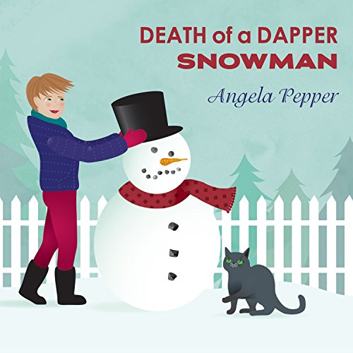 Death of a Dapper Snowman audiobook cover art